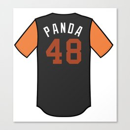 Pablo Sandoval Players' Weekend Jersey Canvas Print