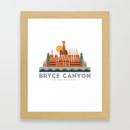 Bryce Canyon National Park Utah Graphic Framed Art Print