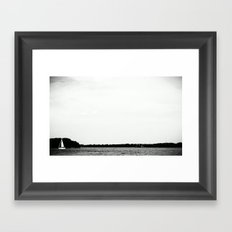 SHIP. Framed Art Print