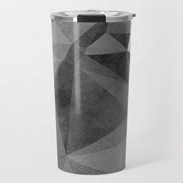 Concrete Polygonal texture Travel Mug