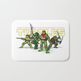 Philippine Revolutionary Ninja Turtles Bath Mat