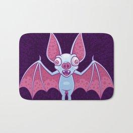 Albino Vampire Bat Bath Mat