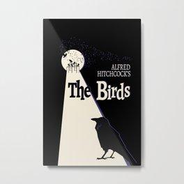HItch's The Birds Metal Print