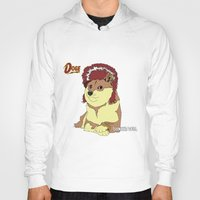 doge Hoodies featuring Diamond Doge by merimeaux