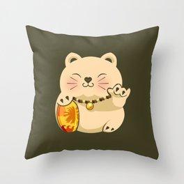 LUCKY SHAKA.v2 Throw Pillow