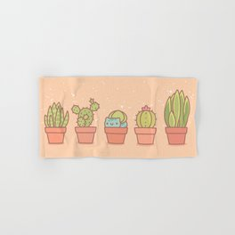 Plant Pots Hand & Bath Towel
