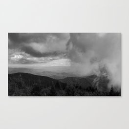 Clouds Incoming Canvas Print
