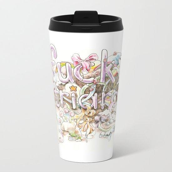 Fuck Patriarchy Metal Travel Mug