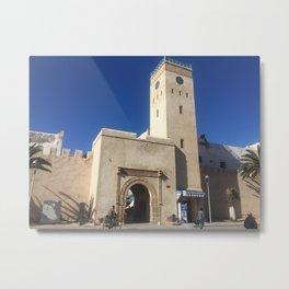 Moroccan Medina Entrance Metal Print
