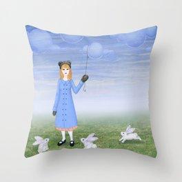 Cloudia Throw Pillow