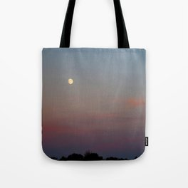 Moon Colors Tote Bag