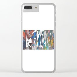 silly Clear iPhone Case