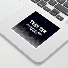 Team Tam Sticker