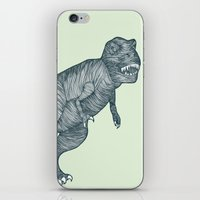 dino iPhone & iPod Skins featuring Dino by maeveelectro