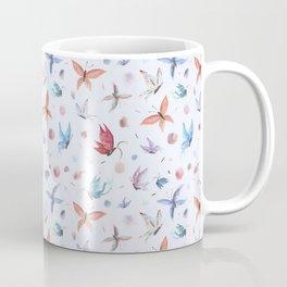 Clean Watercolor Butterflies Coffee Mug
