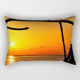 Sunrise The Maldives Rectangular Pillow