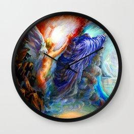 Da Loria Norman Love and Death Wall Clock