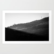 Mountain Shadows Art Print