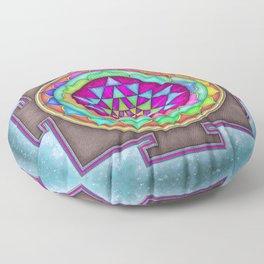 Sri Yantra VII.VII Floor Pillow