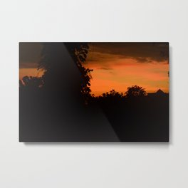 Borneo Sunset Metal Print