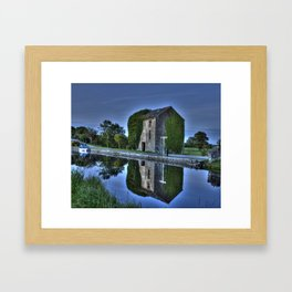 Old Storehouse along the Royal Canal Framed Art Print