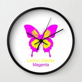 Ulysses Butterfly 5 Wall Clock
