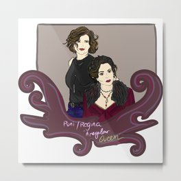 Hyperion Heights Roni & Enchanted Realm Regina - Once Upon A Time Metal Print