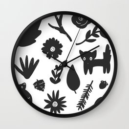 Bits & Pieces Wall Clock