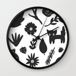Bits & Pieces Wall Clock