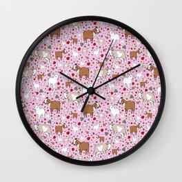 Cute Goat Design Wall Clock