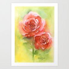 Floral study Art Print