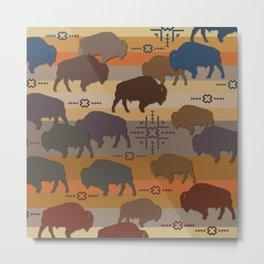 American Native Pattern No. 276 Metal Print