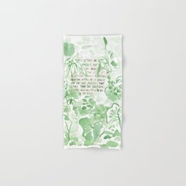 """""""Conquest of the Useless"""" by Werner Herzog Print (v. 2) Hand & Bath Towel"""