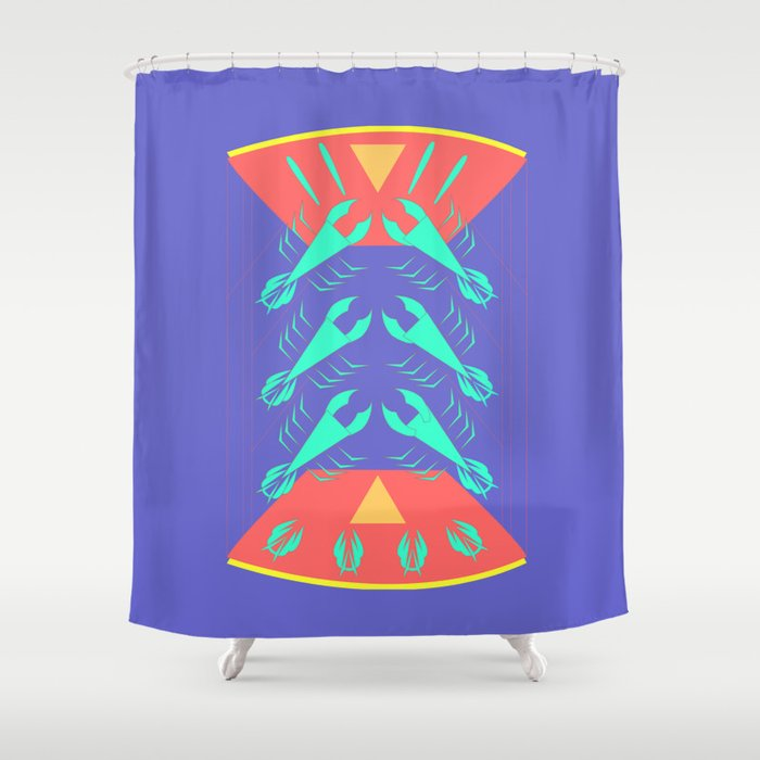 Lobster Shower Curtain By Pambeach