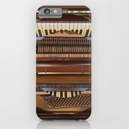 Abstract Upright Piano - Music, Classical, Geometric, Piano Keys, Music Notes iPhone Case