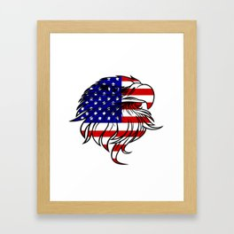 American Eagle - Patriot/Independence Day Framed Art Print