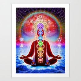 In Meditation Art Print