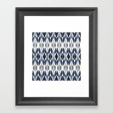 BOHEME INDIGO BLUE Framed Art Print