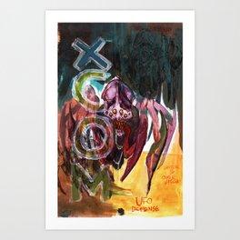 xcom crysalid Art Print
