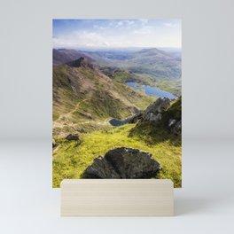 Snowdon Pyg and Miners Track Mini Art Print