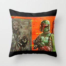 """ He's no good to me dead."" Throw Pillow"