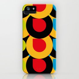 I Love Colors, and tiny little mistakes in the top right corners.... :) iPhone Case