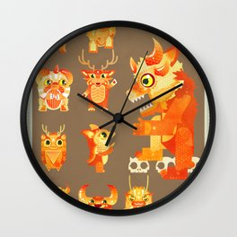 Role Call Wall Clock