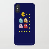 pacman iPhone & iPod Cases featuring Pacman by ARIS8