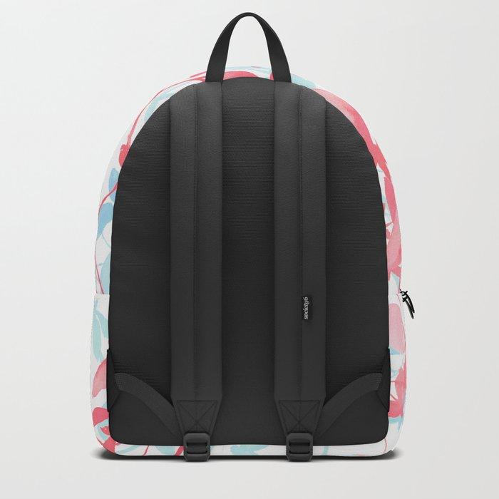 Premonition (Coral Mint) Backpack