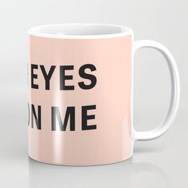 Look - Typography Coffee Mug