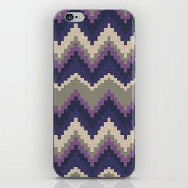 Jagged Violet iPhone Skin