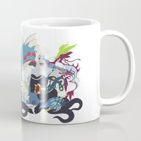 ursula Mugs featuring Team Ursula by Citron Vert