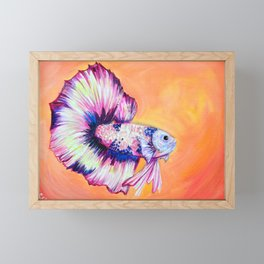 Betta Framed Mini Art Print