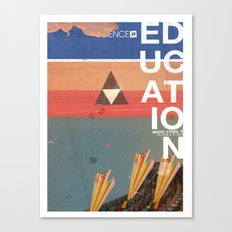 Education - prepare for your mind to be blown Canvas Print